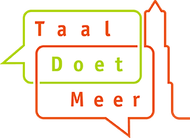 Logo van Taal Doet Meer